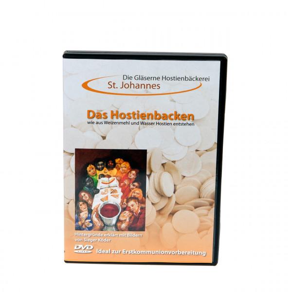 """DVD """" Das Hostienbacken"""" mit Bildern von Sieger Köder"""