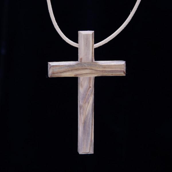Kreuz aus Olivenholz