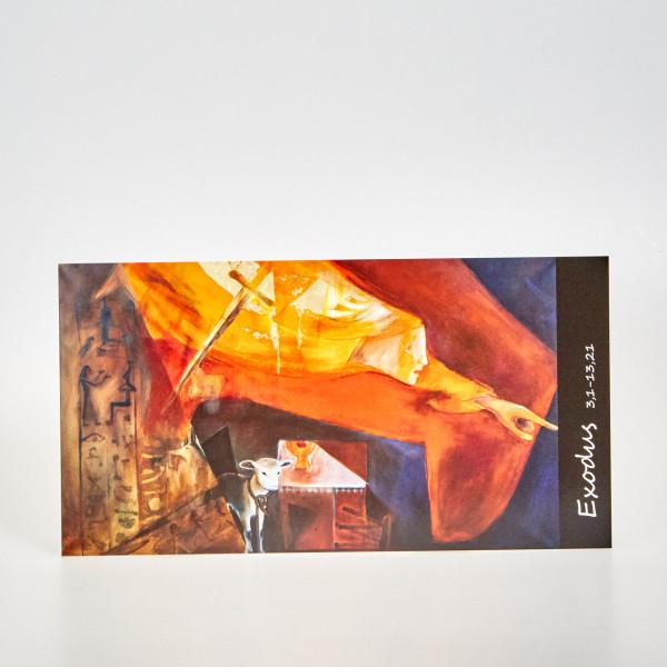 Postkarte Exodus