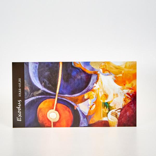 Postkarte Durchzug durchs Rote Meer