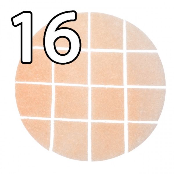 25 Brothostien 15 cm rechteckig vorgeritzt, ergibt 16 Teile